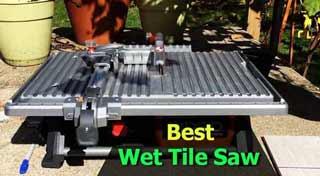 Best Wet Tile Saw