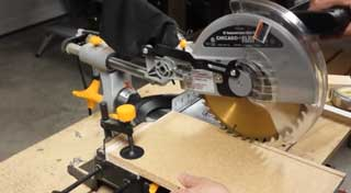 Harbor Freight Miter Saw Review