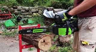 What is a chainsaw used for