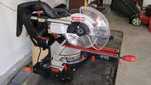 Craftsman Miter Saw Review: Cordless Sliding Miter Saw