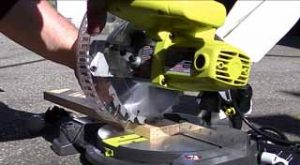 Ryobi TS1143L Review: Compound Miter with Laser