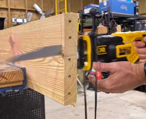 Construction with Reciprocating Saw