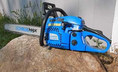 Blue Max 57cc Chainsaw Review
