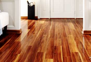 Wooden Flooring Direction with Light