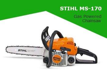 Stihl MS 170 Gas Powered Chainsaw