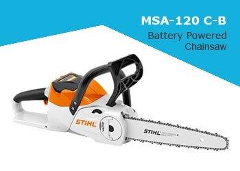 Stihl MSA 120 C-B Battery Chainsaw
