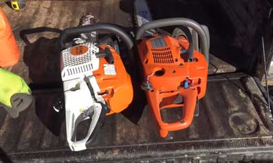 American Made Chainsaws