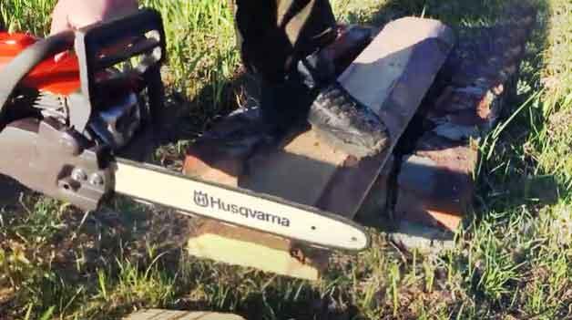Robust Husqvarna Chainsaw