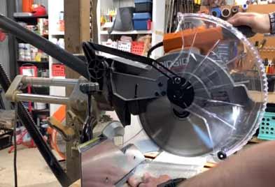 Ridgid-R4221 Sliding Miter Saw