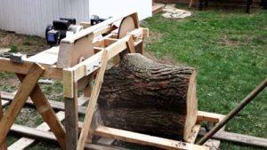 DIY Homemade Bandsaw Mill Plans