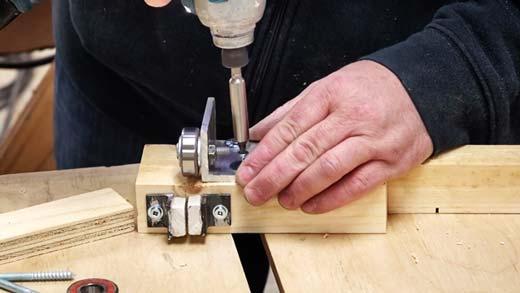 Install the Thrust Bearing