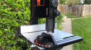 High Speed Compact Wen Bandsaw Review for Resawing